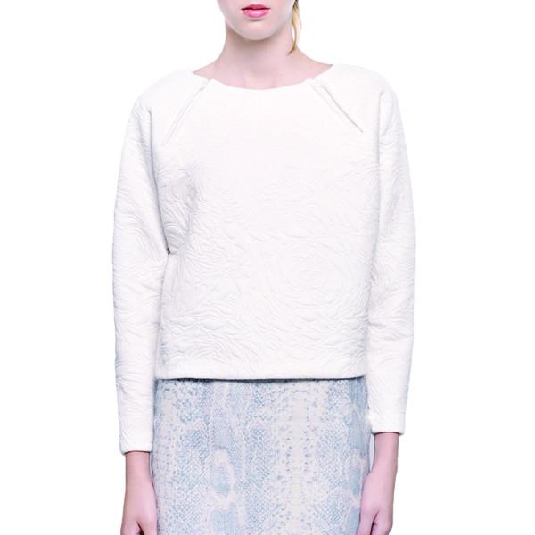 Valerie Dumaine Melvin Blanc Sweater
