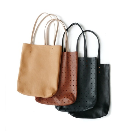 Pine and Boon Dot Punch Tote