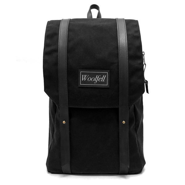 Wolfed Black Warrior Backpack