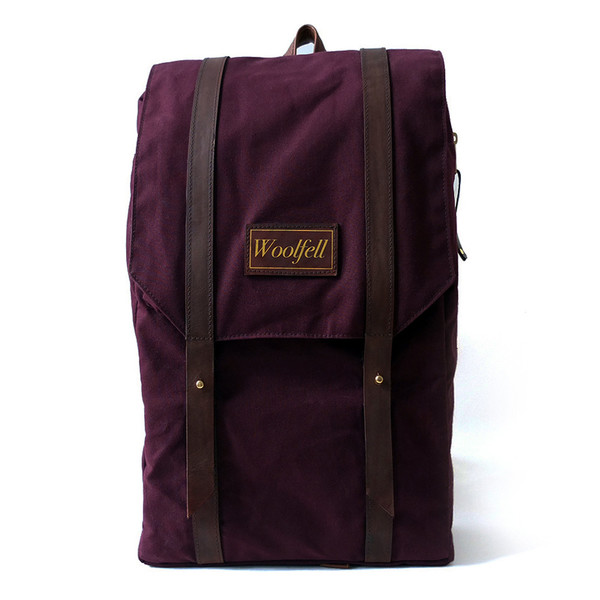Woolfell Warrior Backpack Plum