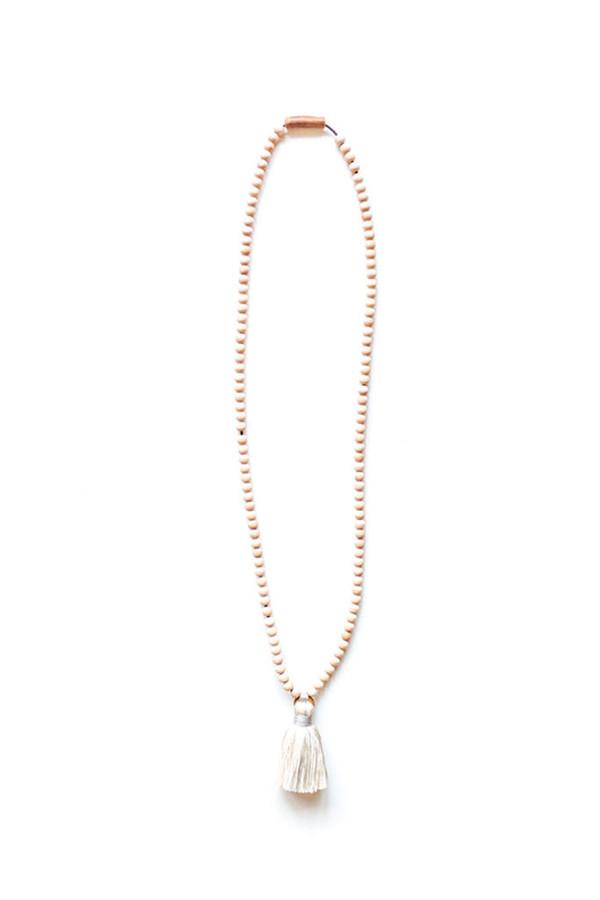 Ashwood Avenue Santo Necklace Ivory