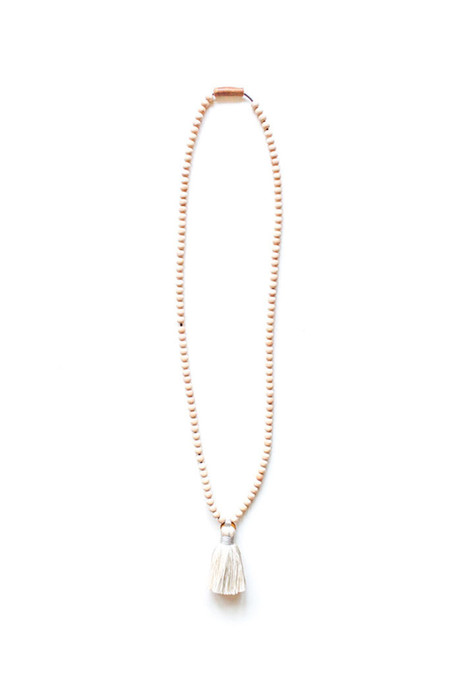 Ashwood Avenue Santo Necklace Ivory