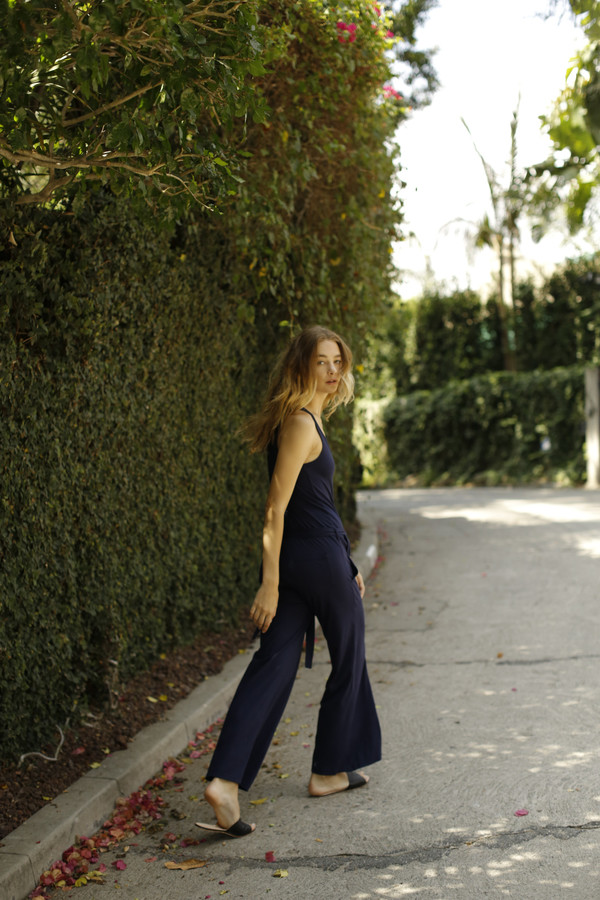 Calder Blake AJ Jumpsuit in 100% Supima Cotton Jersey