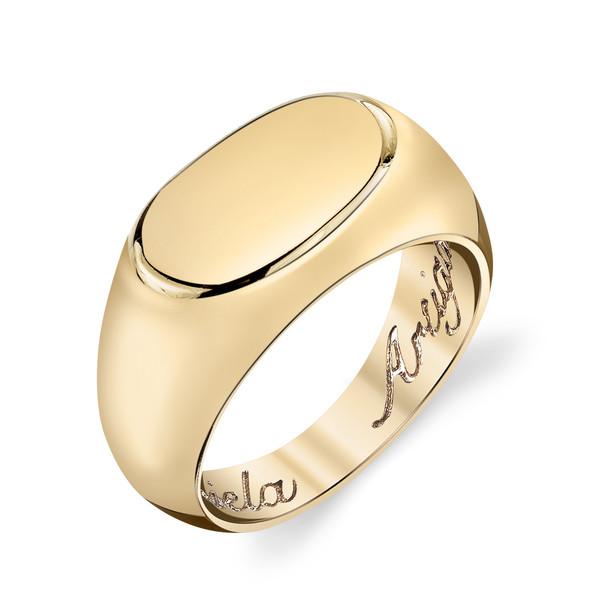 Gabriela Artigas - 14k Yellow Gold Signet Ring
