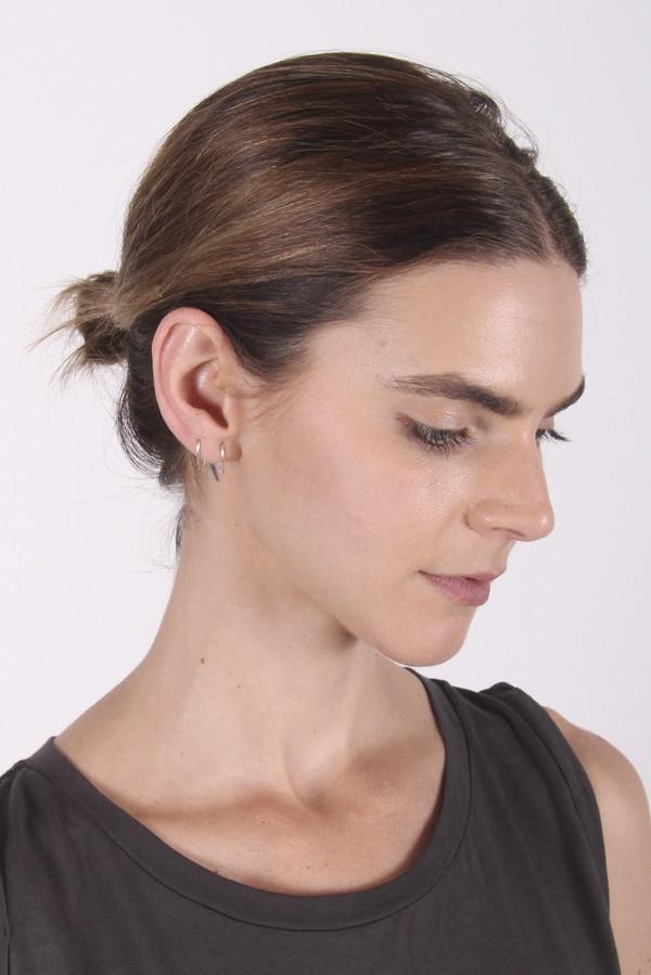 Gabriela Artigas - Sterling Silver Infinite Tusk Earrings