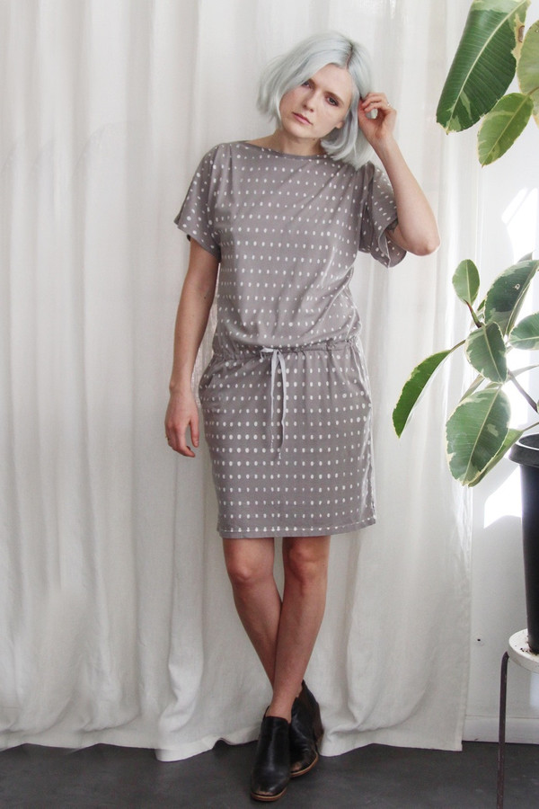 Calder Blake Georgia Dress in Dot Print