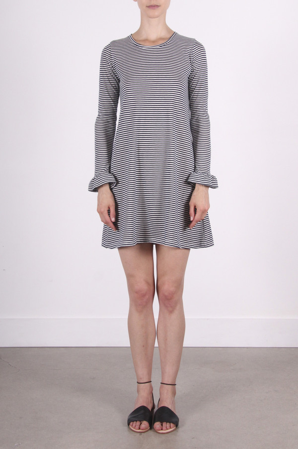Calder Blake Jeana Dress in Picasso Stripe