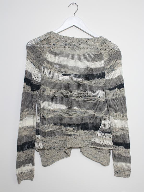 Line Stripe Cardigan