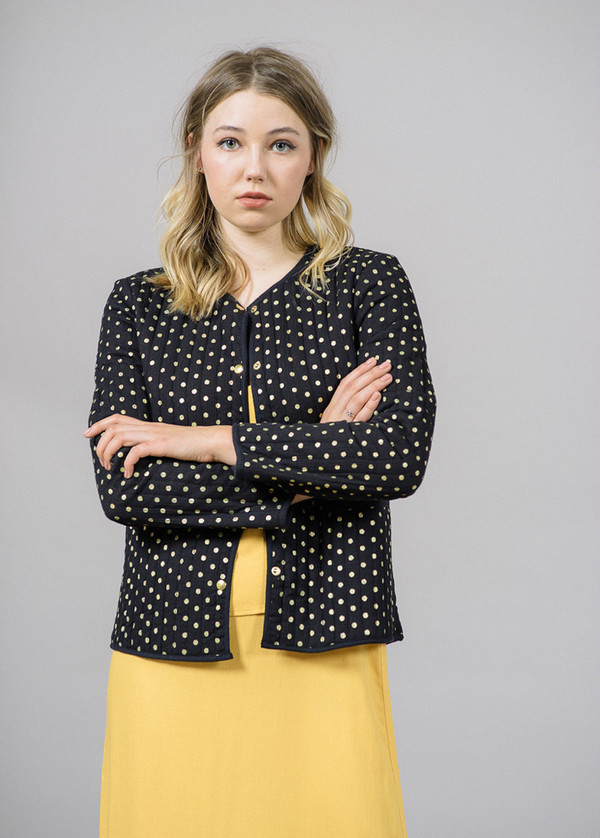 Storm & Marie Issy Jacket with Gold Dots