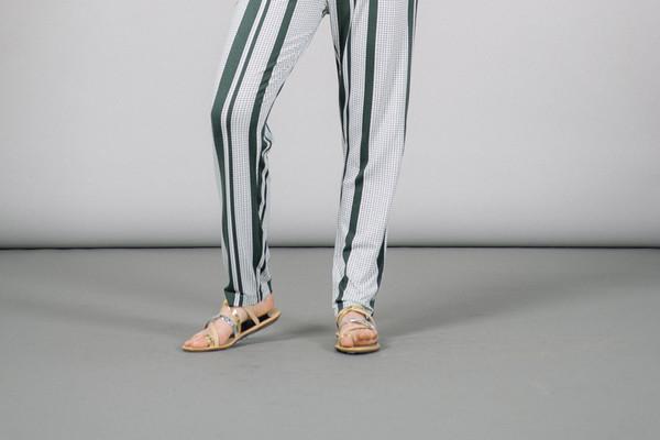 Loeffler Randall Sarie Strappy Thong Flat Sandals