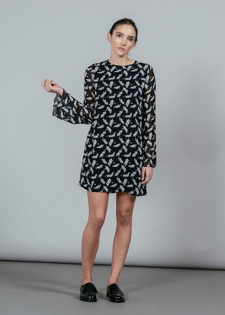 Ganni Seymour Georgette Dress