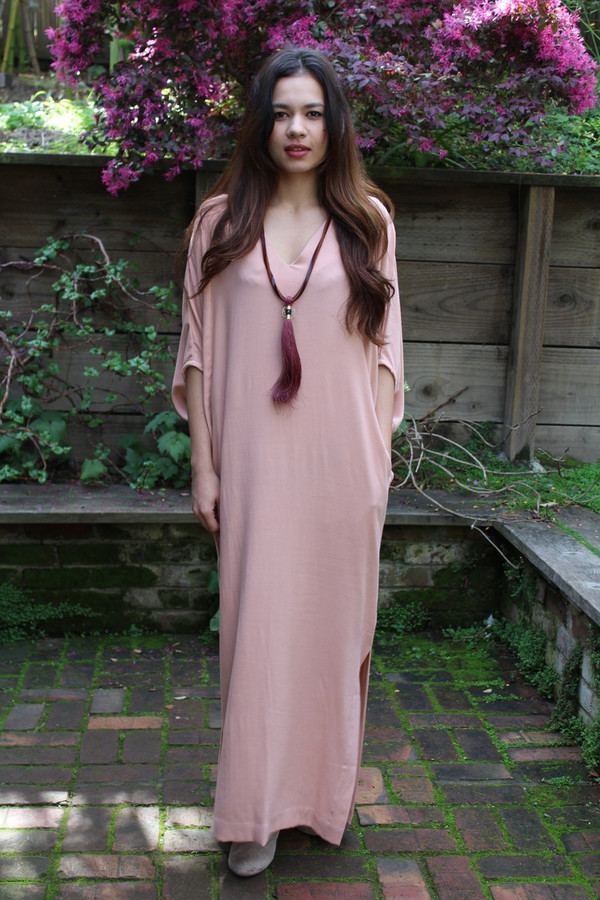 Ginger Caftan Washed Blush Caftan