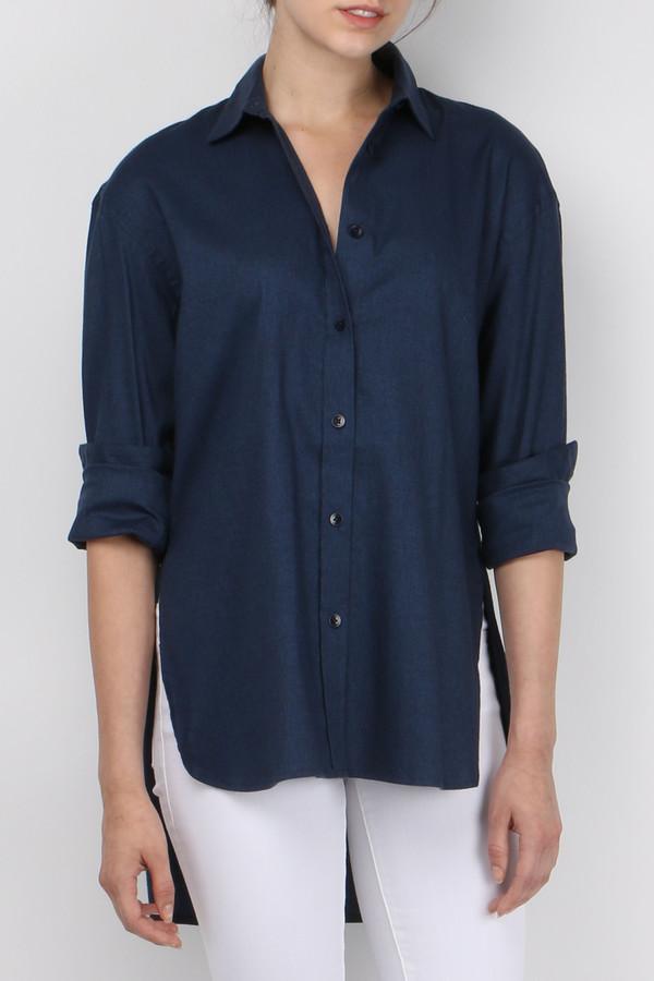 Tibi Denim Essential Shirt