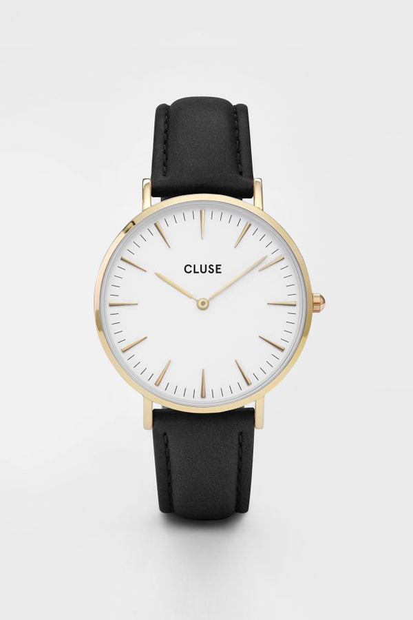 CLUSE WATCH La Boheme Gold White/Black