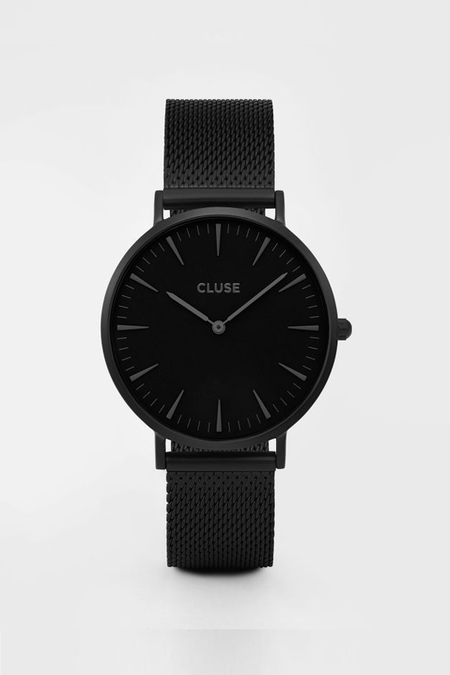 CLUSE WATCH La Boheme Mesh Full Black
