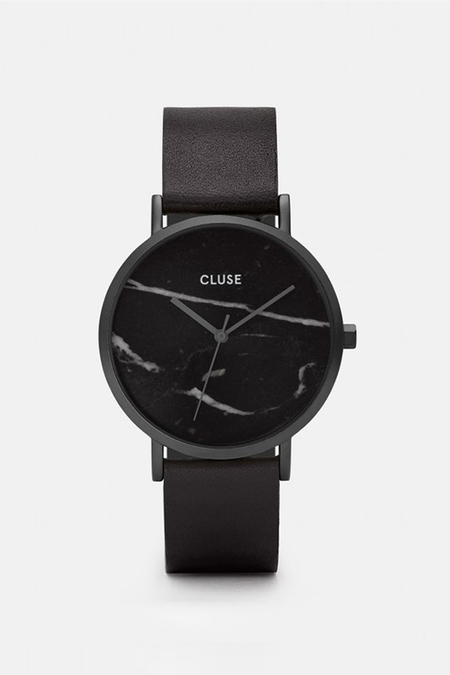 CLUSE WATCH La Roche Full Black Marble