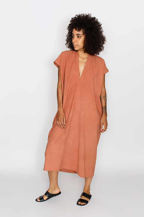 Miranda Bennett Dakota Everyday Dress | Oversized Cotton