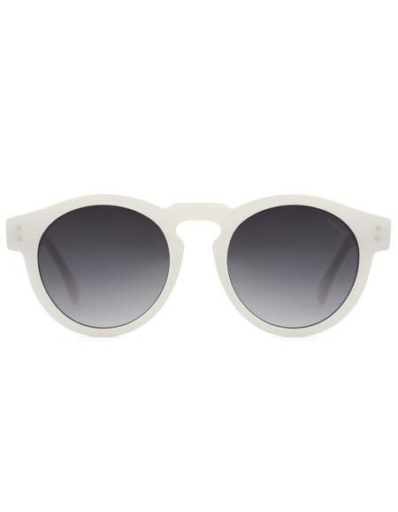 Komono Clement Sunglasses Milky White