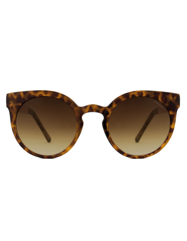 Komono Lulu Sunglasses Metal Tortoise Rose Gold