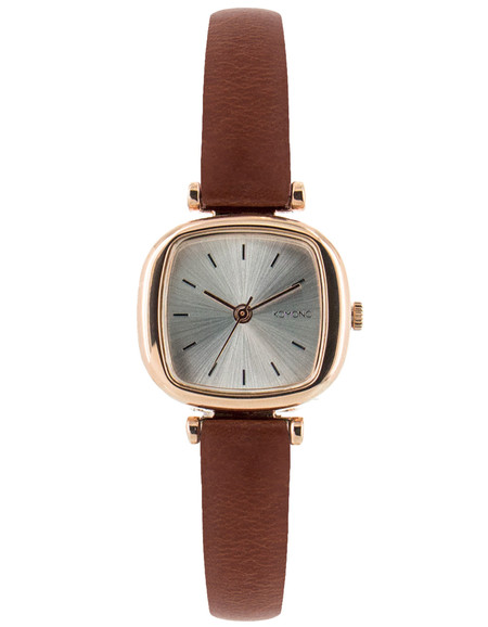 Komono Money Penny Watch Rose Gold Brown