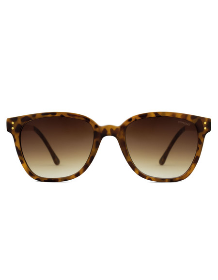 Komono Renee Sunglasses Metal Tortoise Rose Gold