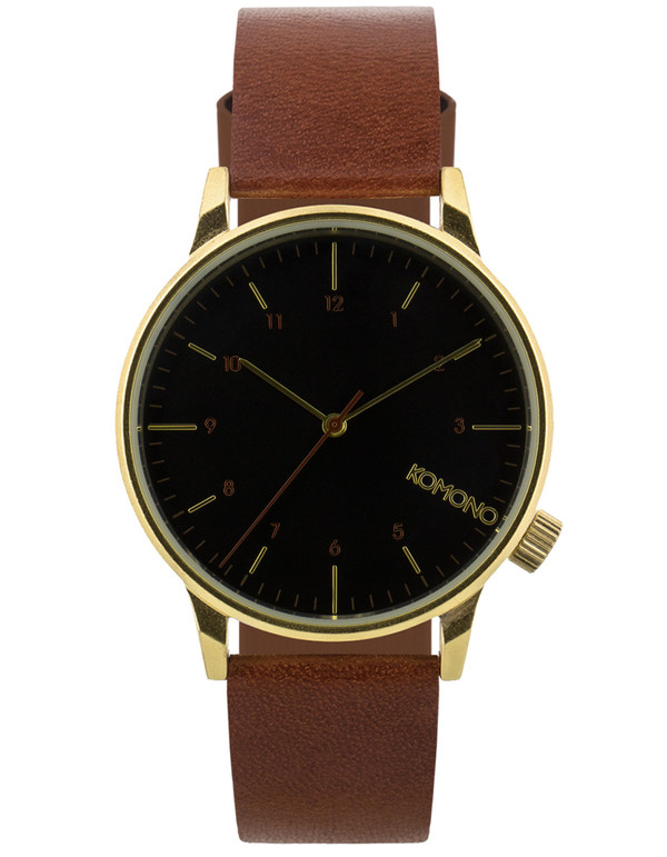Komono Winston Regal Watch Pecan