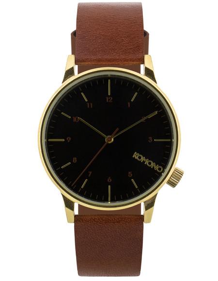 Komono Winston Regal Watch Pecan