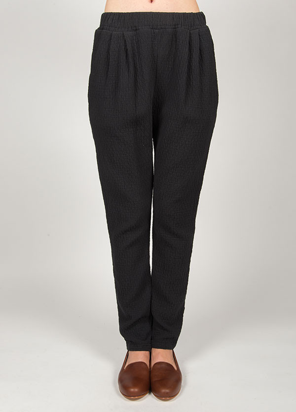 Black Crane - Quilt Pants in Black