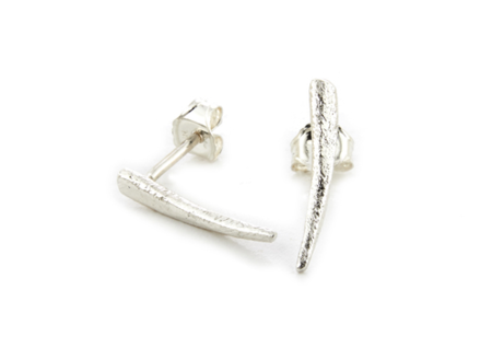 NEAL Jewelry Thorn Studs Silver