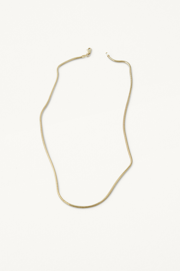 Kathleen Whitaker Snake Chain Necklace