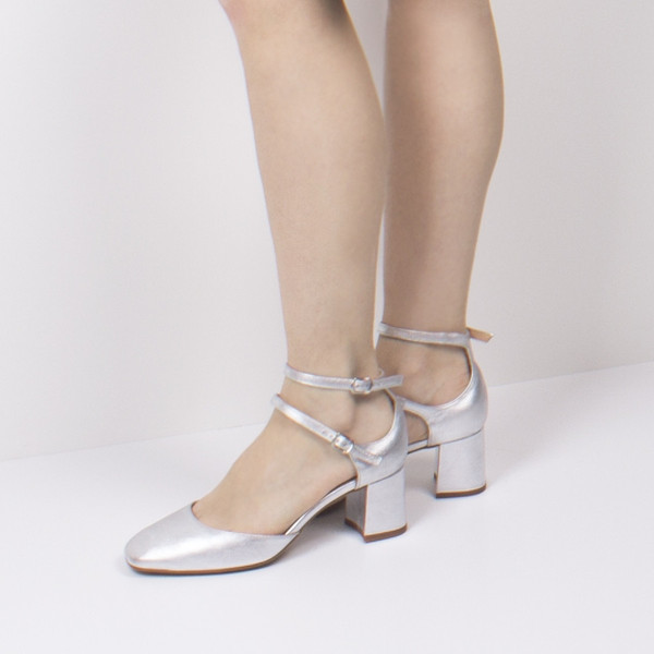 L'Intervalle Reikan Shoes (Silver Leather)