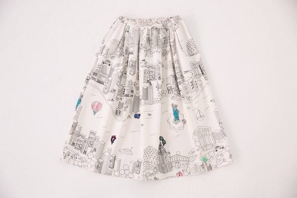 Mira Mikati colorbook skirt