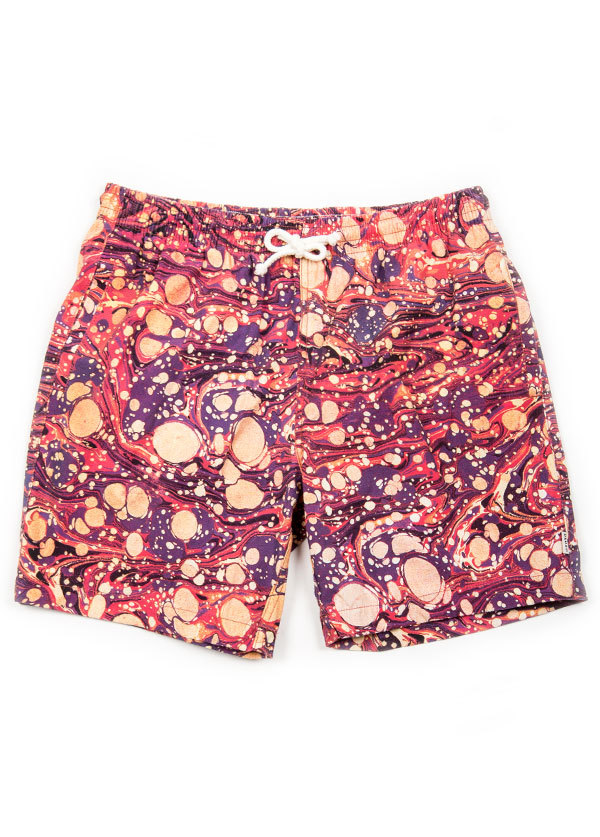 Men's Deus Ex Machina - Bates Mar Balls Shorts in Multi