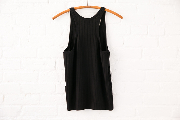 acne studios iso rib top