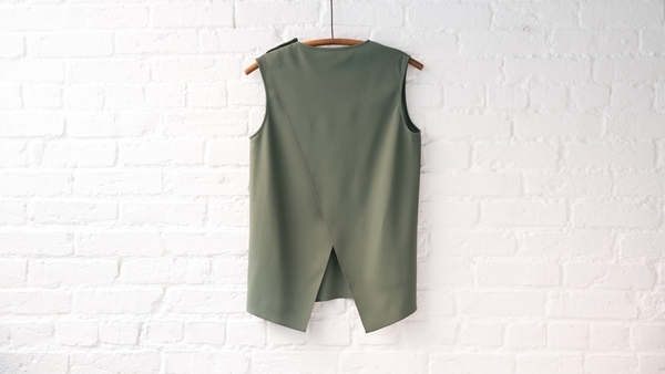acne studios clair cady top