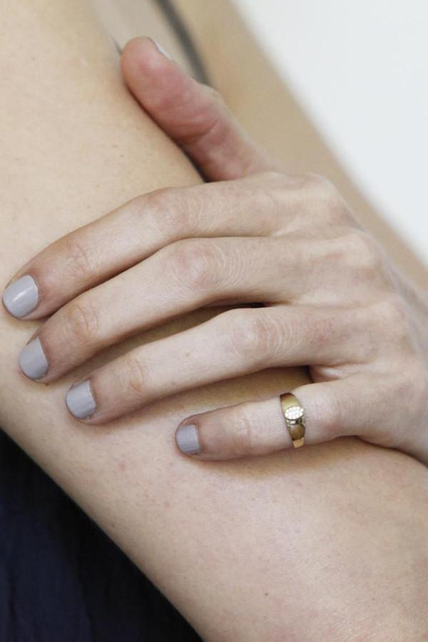 Gabriela Artigas & Company 14K Gold Baby Signet Ring