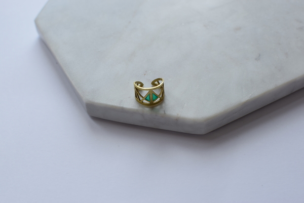 Maija Brianne Brass Ring 2