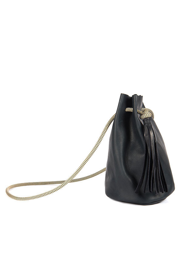 Eleven Thirty - Christie Bucket Bag in Black