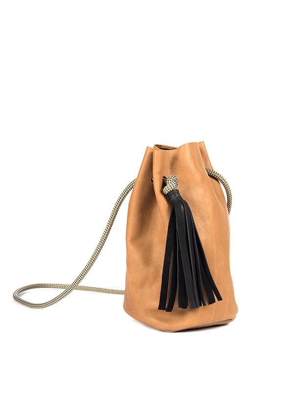 Eleven Thirty - Christie Bucket Bag in Cinnamon