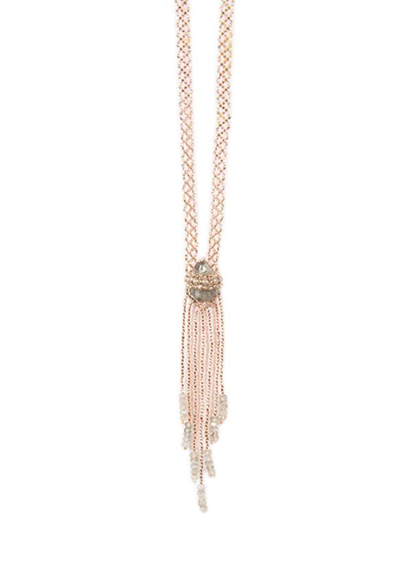 Evoke The Spirit - Crystal Beaded Spirit Necklace (More Colors)