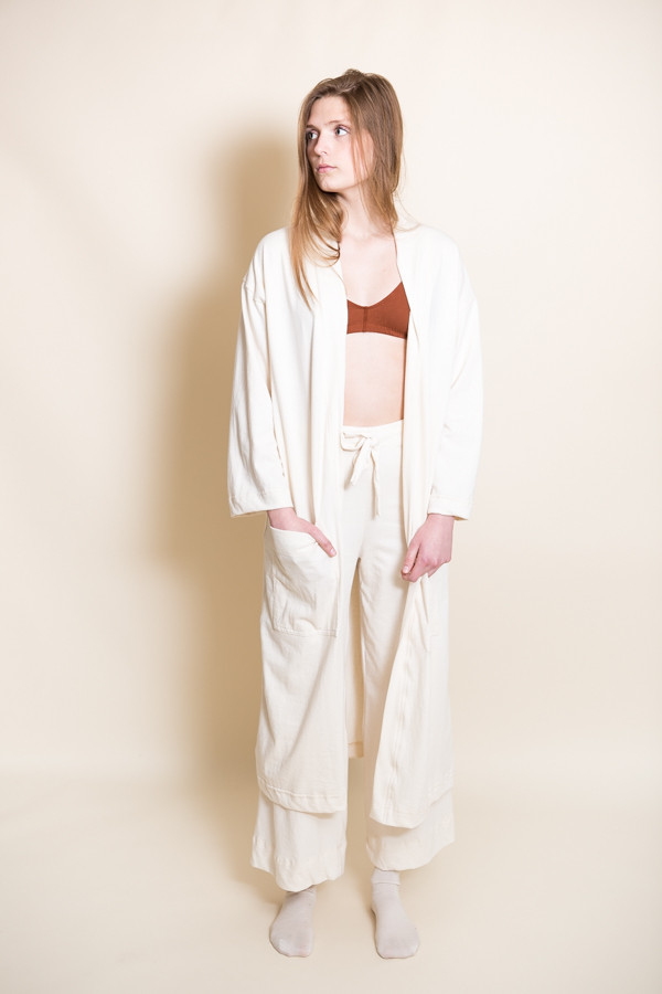 Pansy Robe / Natural