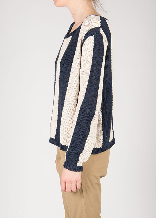 Ganni - Summer Knit Sweater in Total Eclipse