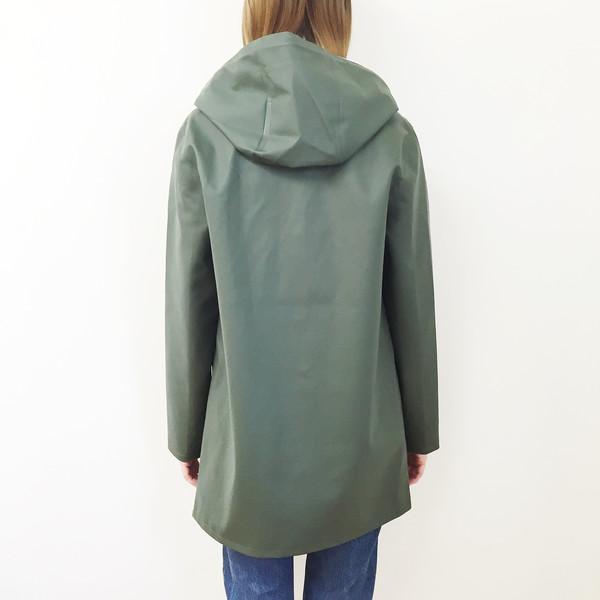 Stutterheim Stockholm Raincoat - Green