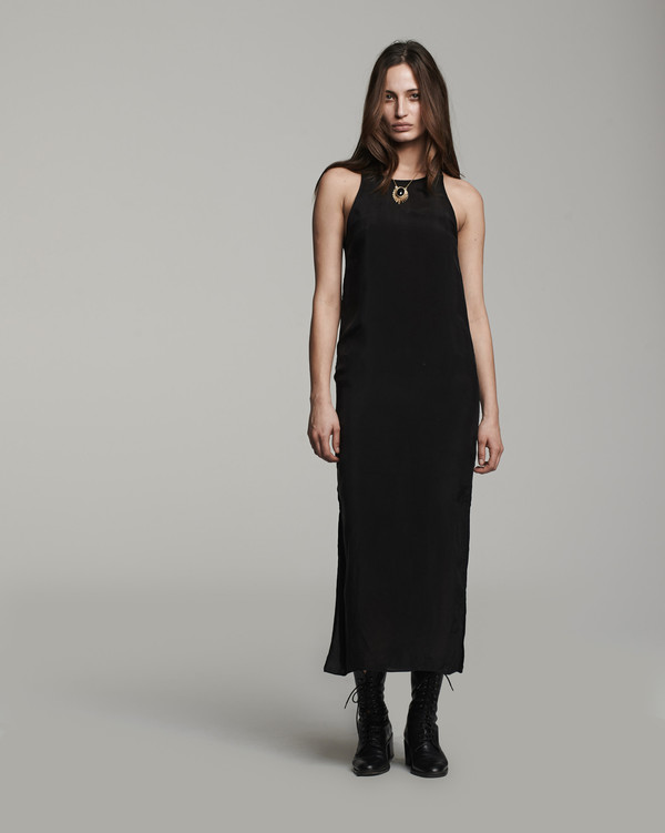 VOZ  Cami Slip - Black