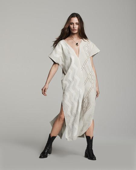 VOZ Textile Two-Panel Dress