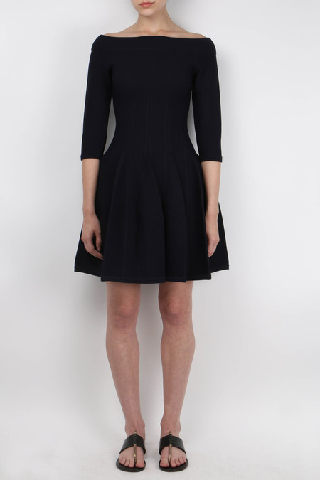 Jonathan Simkhai Off The Shoulder Knit Dress