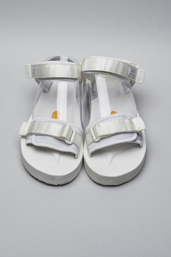 Men's Suicoke Nylon Cel-V Sandal - White
