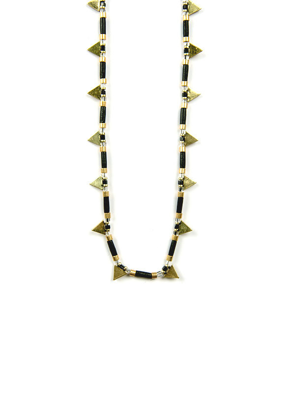 Jenny Bird - Byron Banting Necklace in Black