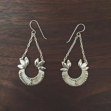 Shannon Munro Sovereign Earrings - Silver