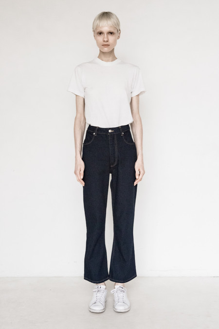 Eckhaus Latta Cotton Flair Jean